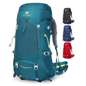 NEVO RHINO 50L/60L/80L Internal Frame Backpack,Ultralight waterproof Daypack for Hiking, Camping