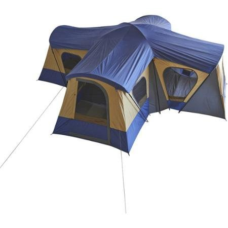 Ozark Trail Base Camp 14-Person Cabin Tent (Blue)