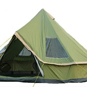 DANCHEL 13ft Light Weight Tipi Family Tent for Camping 4000 Pro