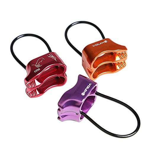 Dometool Outdoor Climbing Belay Device ATC Belay Rappel Device for 8-12mm Rope