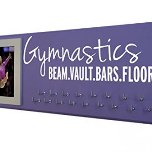 RunningontheWall Gymnastics Equipment, Gymnast Gifts for Girls Gymnastics Beam.Vault.Bars.Floor. Gymnastics Ribbon Holder, Gymnast Ribbon Holder