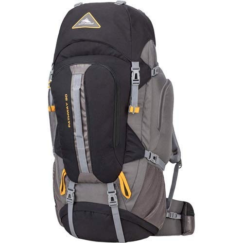 High Sierra Pathway Internal Frame Hiking Backpack 90L - with Hydration Port