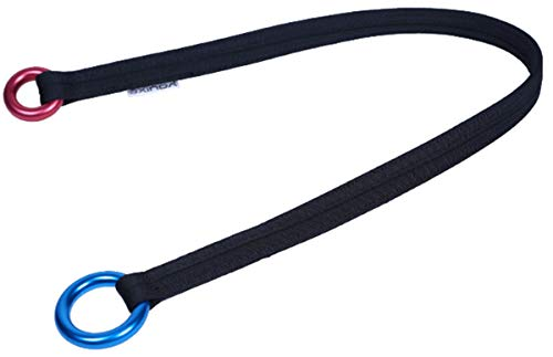 NewDoar Outdoor Tree Arborist Climbing Rope Friction Saver Loop Belt Sling 25kN 35.4 in/43.3 in
