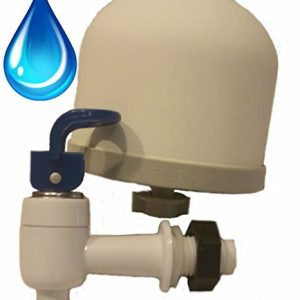 Gravity Water Filter Kit for DIY Purifier, Includes .2 Micron Ceramic Filter, Pre Filter, Dispenser, and Instructions by SHTFandGO