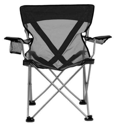 TravelChair Teddy Folding Camp Chair with Sheer Nylon Mesh for Hot Days