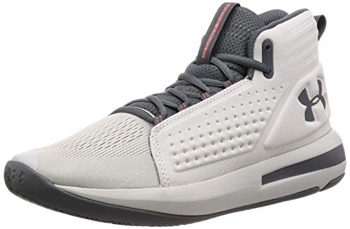 Under Armour Men's Torch Basketball Shoe, Gray Flux (106)/Gray Flux, 9.5
