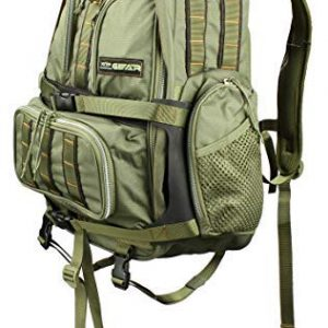 XOP-XTREME OUTDOOR PRODUCTS Striker Bow Hunting Backpack - Tactical Backpack for Hunting, Camping, Fishing or Hiking - Archery Backpack, OSFM, XOP Gear Green