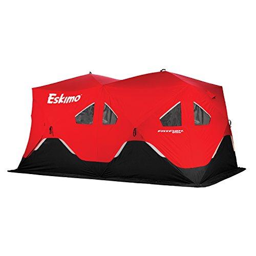 Eskimo FF9416 FatFish Pop-up Portable Ice Shelter, 7-9 Person