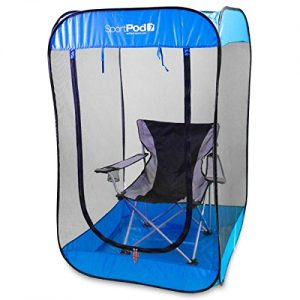 SportPod BugPod Undercover Pop Up Insect Screen Pod Tent - Royal Blue