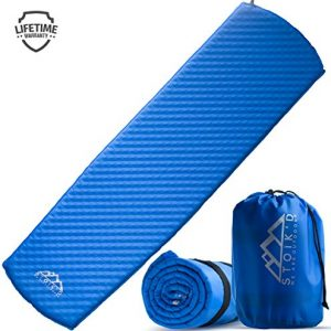 Self Inflating Sleeping Pad - Camping Sleeping Pad for Camping & Backpacking - Used as Camping Pads for Sleeping, Backpacking Sleeping Bag Pads, Hammock Sleeping Pads - Self Inflating Camping Pad