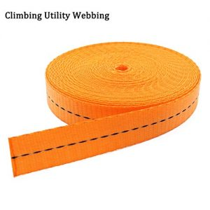 "Boaton Nylon Webbing, Make Sling Runner, Prusik Knot, Make Anchors System, Extending Quickdraws for Rappels, Rock Climbing, Tree Climbing, Rigging, Rescue Work, Hunting, 1"" x 33Ft / 11 Yards"