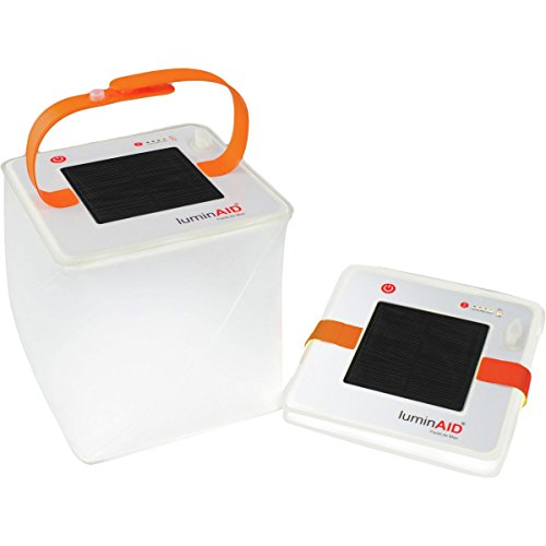 LuminAID PackLite 2-in-1 Phone Charger Lanterns   Great for Camping, Hurricane Emergency Kits and Travel   As Seen on Shark Tank