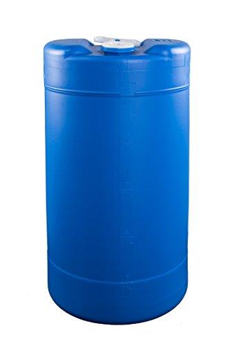 15 Gallon Emergency Water Storage Barrel - BPA Free, Portable, Food Grade Plastic - Survival Preparedness Water Supply