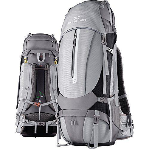 Ghostek NRGcamper Hiking Camping Backpack + 11W Solar Panel