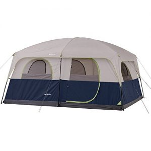 Ozark Trail 14' x 10' Family Cabin Tent, Room for 10 to sleep, Electrical cord access