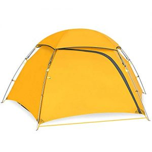 KAZOO Outdoor Camping Tent Durable Lightweight Hiking Backpack Tents Waterproof Instant Setup Tent Double Layer 2person