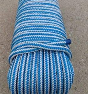 "1/2"" x 150' Arborist Tree Climbing Rope, 16 Carrier Braid"
