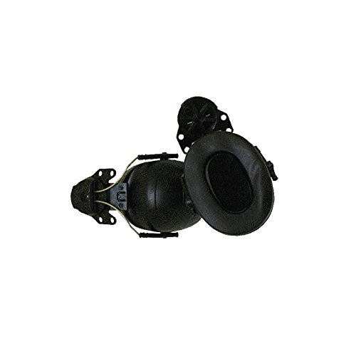 OmniProGear OPG Helmet Adjustable Ear Muffs, Fits Petzl Vertex and Alveo Helmets and Most Other Slotted Helmets