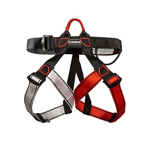 BREEZEY Survival Equipments, Colorful Outdoor Sports Climbing Harness Safety Support Waist Belts