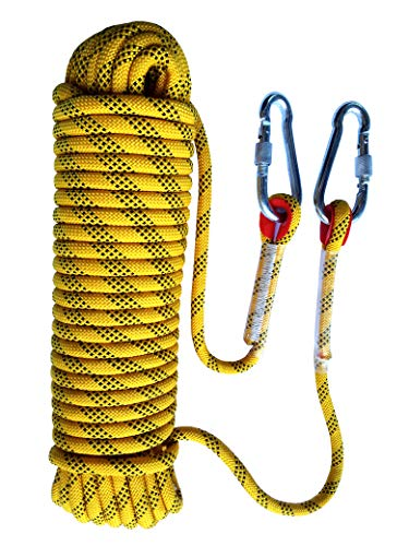 Tonyko Outdoor Climbing Rope, Rock Climbing Rope, Escape Rope, Climbing Equipment, Fire Rescue Parachute Rope