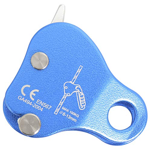 Amarine Made Rock Climbing Ascender Fall Arrest Protection Belay Device
