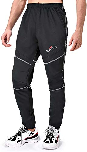 4ucycling Men's Windproof Athletic Pants for Outdoor and Multi Sports