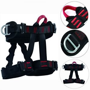 Half Body Safety Rock Climbing Arborist Tree Rappelling Harness Seat Belt