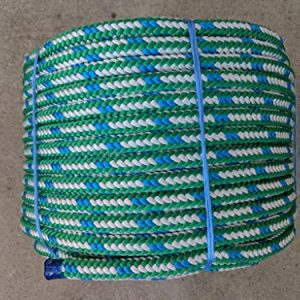 "1/2"" x 200' Arborist Tree Climbing Rope, 16 Carrier Braid"
