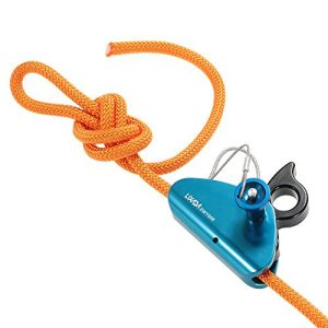 Lixada Rock Climbing Fall Protection Rescue Rope Grab Aluminum Spring Tensioned Pin Easy Rope Installation