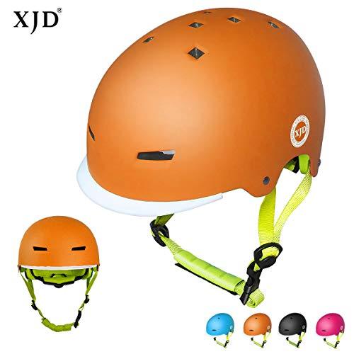 XJD Toddler Helmet Kids Bike Helmet Multi-Sport Cycling Helmet CPSC Certified Adjustable Child Helmet Kids Bicycle Helmet Boys Girls Safety Skateboard Skating Scooter Youth Helmet Ages 3-13 Years Old