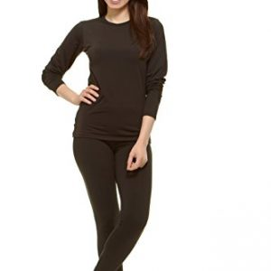 Thermajane Women's Ultra Soft Thermal Underwear Long Johns Set with Fleece Lined