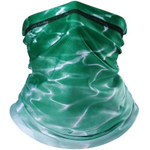 YOSUNPING Summer Breathable Neck Gaiter Half Face Mask - Sun UV Dust Protection Windproof for Cycling Hiking Running