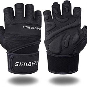 SIMARI Workout Gloves for Women Men,Training Gloves with Wrist Support for Fitness Exercise Weight Lifting Gym Lifts,Made of Microfiber SG-907