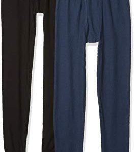 Fruit of the Loom Men's Classic Midweight Waffle Thermal Underwear Bottoms (1 & 2 Packs)