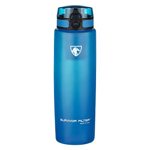 Survivor Filter Water Filter Bottle. Made in USA.