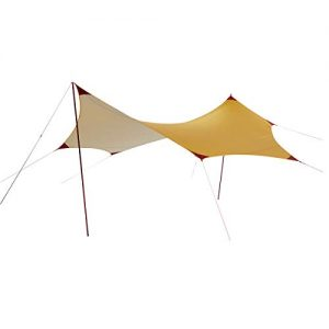 MSR Rendezvous Sun Shield Wing Canopy Camping Shelter, 120 Square Foot