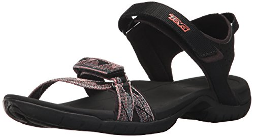 Teva Women's W Verra Sport Sandal, surf Black/Multi, 9.5 M US