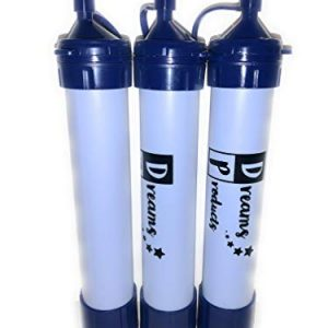 Dreams Products Water Filter Straw for Camping Hiking Preppers Survival and Emergency - Premium Quality (3)