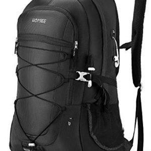 HOMIEE Lightweight Hiking Backpack, 45L Camping Daypack Travel Bag Waterproof