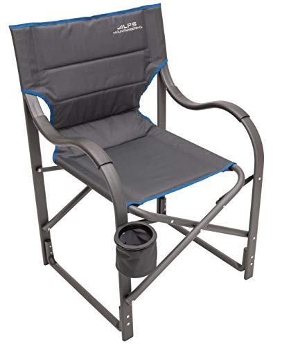 ALPS Mountaineering Camp Chair, Charcoal/Blue