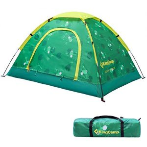 KingCamp Youth Outdoor Portable Camping Tent, Children's Indoor Playhouse for Boys and Girls, Green Playing House Tent