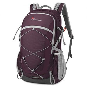 Mountaintop 22L/28L/40L Unisex Hiking/Camping Backpack (40L-Fuchsias)