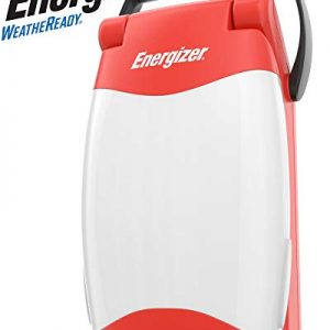 Energizer All-Weather LED Lantern, IPX4 Water Resistant, Bright and Durable Camping Lantern - Compact Emergency Light
