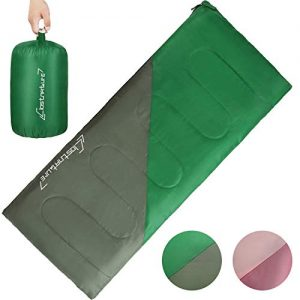 Backpacking Sleeping Bag for Kids and Adults - Camping Sleeping Bag for Boys, Ultralight Girls Sleeping Bag, Great for Warm Weather, Hiking, Youth, Hammock