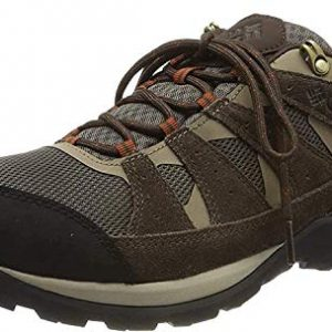 Columbia Men's Redmond V2 Waterproof Hiking Shoe, mud, Dark Adobe, 9.5 Regular US