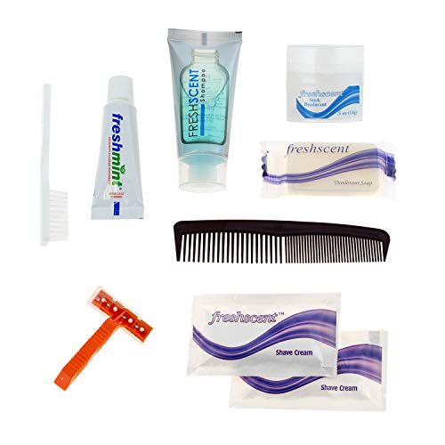 12 Kits - Bulk Case of Wholesale Deluxe Hygiene and Toiletries for Men, Women, Travel, Charity