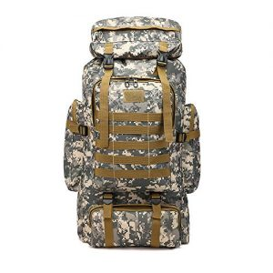 ÖSSZEFUT Military Tactical Backpack 80L Large 3 Day Assault Camping Hiking Backpack Rucksack