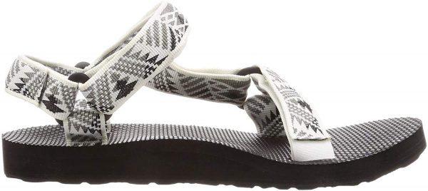 Teva Women's W Original Universal Sandal, Boomerang White/Grey, 10 Medium US