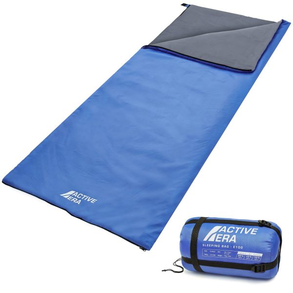 Ultra Lightweight Sleeping Bag - Perfect for Warm Weather, Sleepovers, Fishing, Outdoor Camping and Hiking in the Summer Months