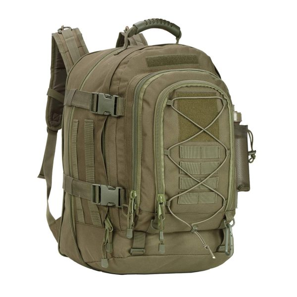 PANS Backpack for Men Large Military Backpack Tactical Waterproof Backpack for Work,School,Camping,Hunting,Hiking(GREEN)